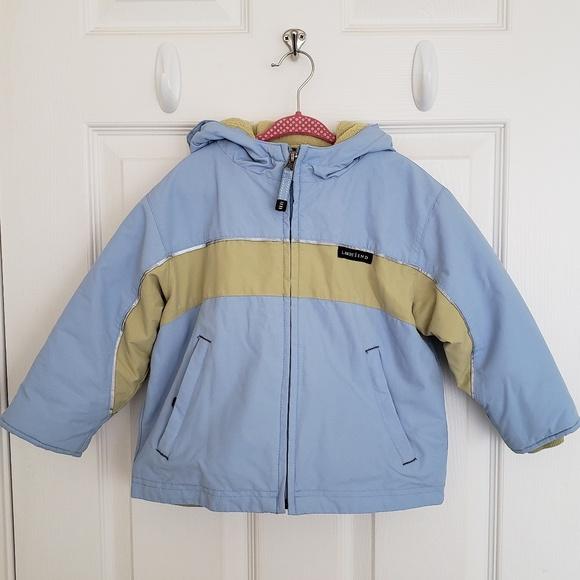 89758c5df Lands' End Jackets & Coats | Lands Ends Hooded Sport Squall Blue ...